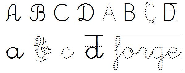 Como Trazar Letras Para Ninos