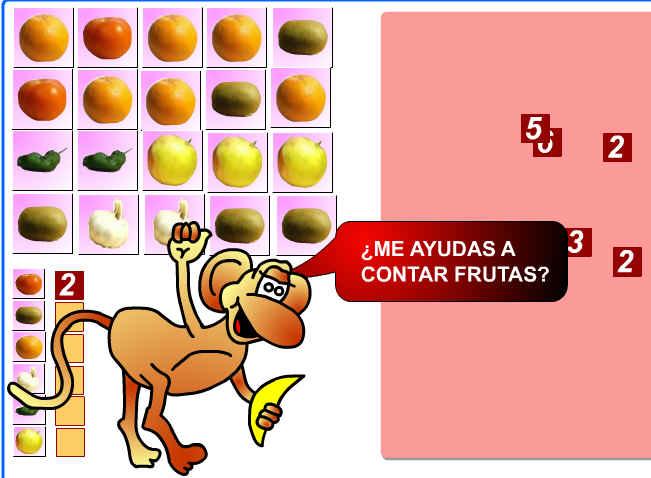 Contar frutas