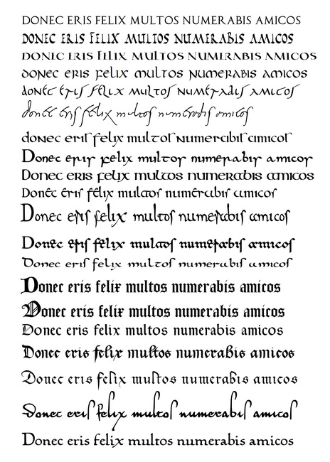 ALPHABETUM UNICODE  Font for ancient scripts